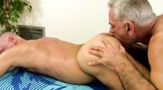 Sensual Gay Massage Turns To Blowjob