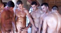 Видео гей порно изврат групповое